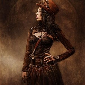 AUTHENTIC VICTORIAN, STEAMPUNK ANTIQUE CLOTHING!